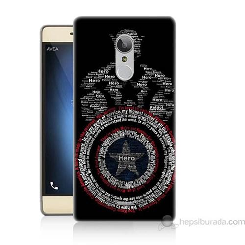 Teknomeg Türk Telekom Tt175 Kaptan Amerika Baskılı Silikon Kapak Kılıf