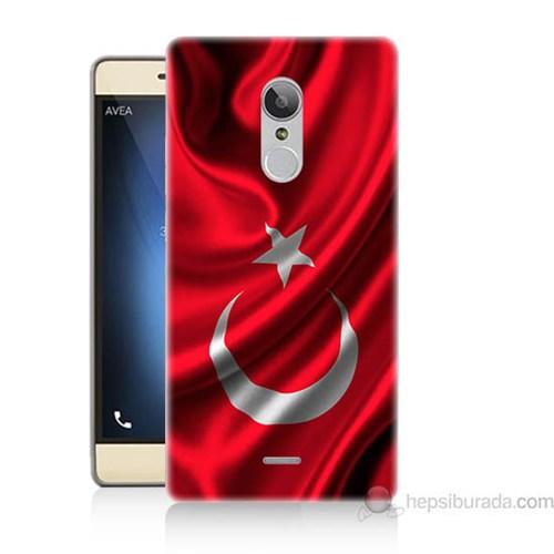 Teknomeg Türk Telekom Tt175 Türkiye Bayrağı Baskılı Silikon Kapak Kılıf