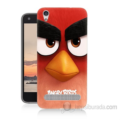 Teknomeg Vestel Venüs V3 5020 Angry Birds Baskılı Silikon Kapak Kılıf