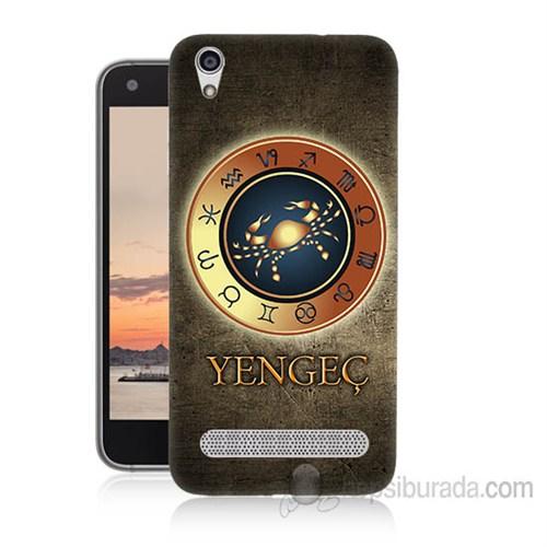 Teknomeg Vestel Venüs V3 5020 Yengeç Burcu Baskılı Silikon Kapak Kılıf
