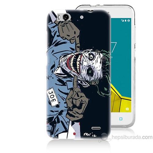 Teknomeg Vodafone Smart 6 Joe Joker Baskılı Silikon Kapak Kılıf