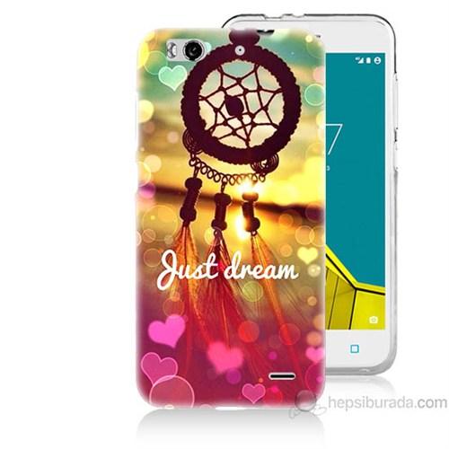 Teknomeg Vodafone Smart 6 Just Dream Baskılı Silikon Kapak Kılıf