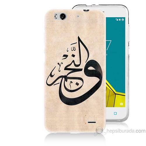 Teknomeg Vodafone Smart 6 Arapça Baskılı Silikon Kapak Kılıf