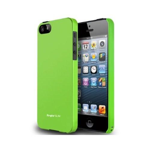 Rearth Apple iPhone 5/5s Ringke Slim Yeşil Kılıf