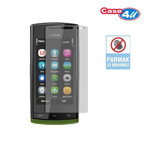 Case 4U Nokia 500 Ekran Koruyucu ( Parmak izi bırakmaz )