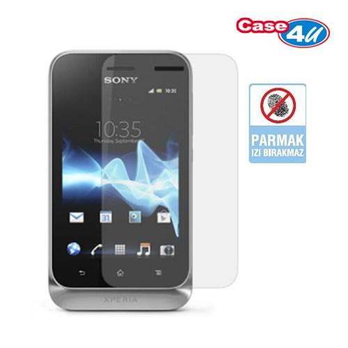 Case 4U Sony Xperia Tipo Ekran Koruyucu ( Parmak izi bırakmaz )