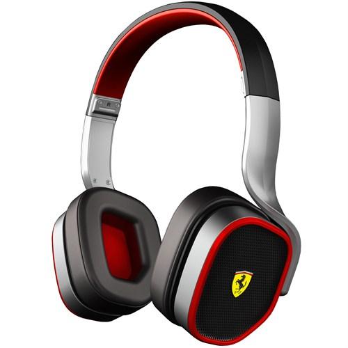 Ferrari by Logic3 R200 Scuderia Kulaküstü Kulaklık Gümüş