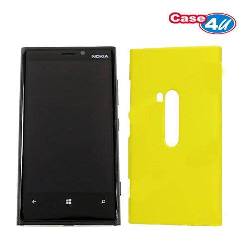 Case 4U Nokia Lumia 920 Arka Kapak - Sarı
