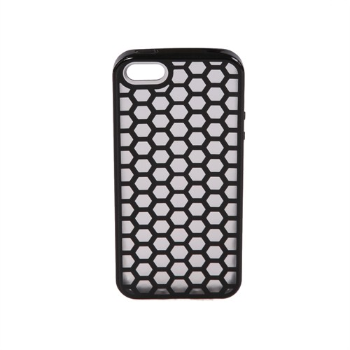 Casefree Apple iPhone 5/5s Petek Kılıf - Siyah