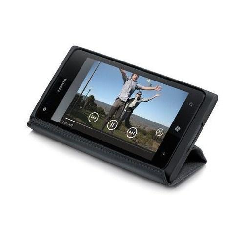 Nokia CP-600 Lumia 920 Stand Kılıf Siyah
