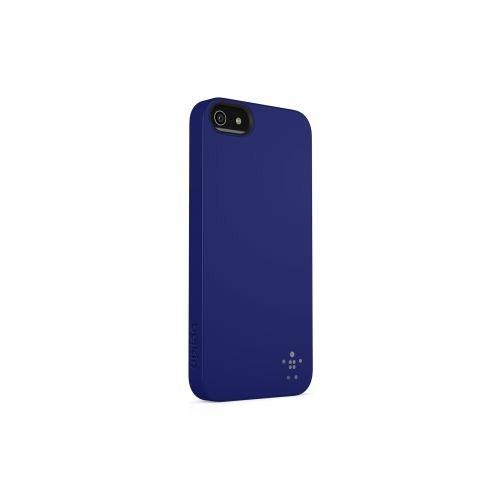 Belkin iPhone 5 Arka Kapak - Lacivert F8W127vfC06