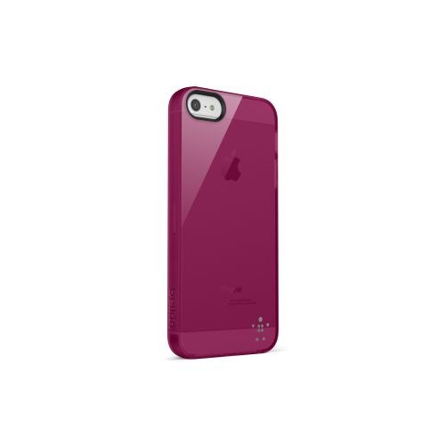Belkin iPhone 5 Arka Kapak - Bordo F8W093vfC03