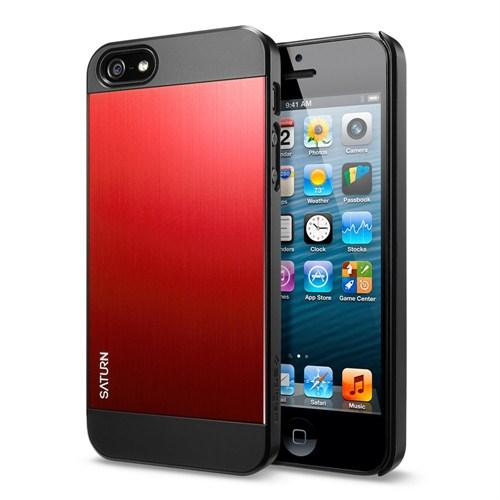 Spigen Sgp iPhone 5/5s Kılıf Saturn Dante Red - Kırmızı