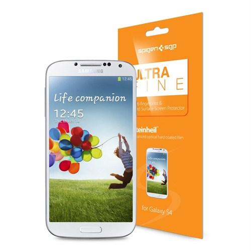 Spigen Samsung Galaxy S4 i9500 Screen Protector Steinheil Ultra Fine Ekran Koruyucu