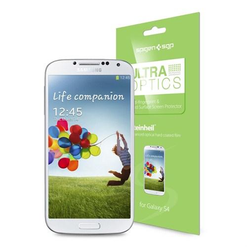 Spigen Sgp Samsung Galaxy S4 i9500 Screen Protector Steinheil Ultra Optics Ekran Koruyucu