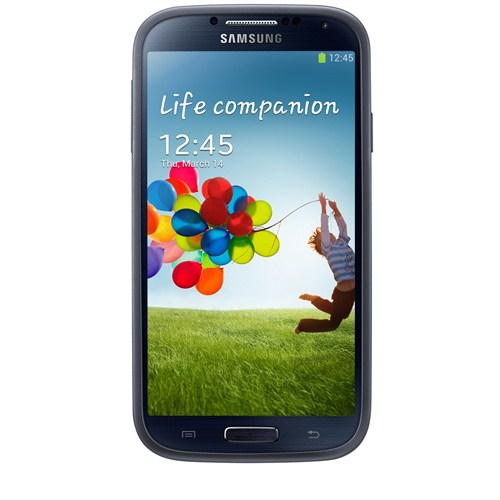 Samsung Galaxy S4 i9500 Arka Kapak (Darbe Emici) Siyah EF-PI950BNEGWW