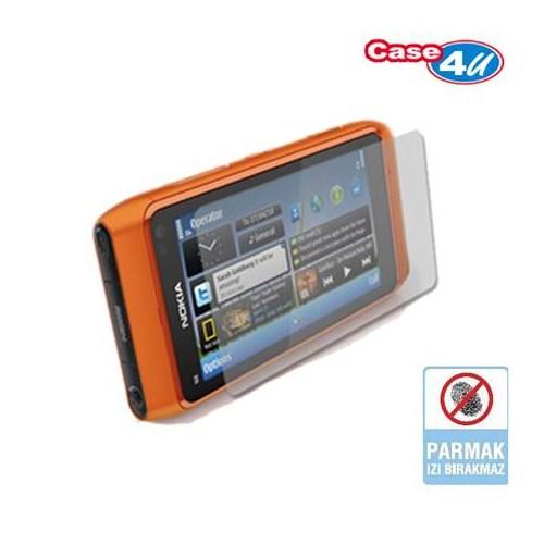 Case 4U Nokia N8 Ekran Koruyucu ( Parmak izi bırakmaz )