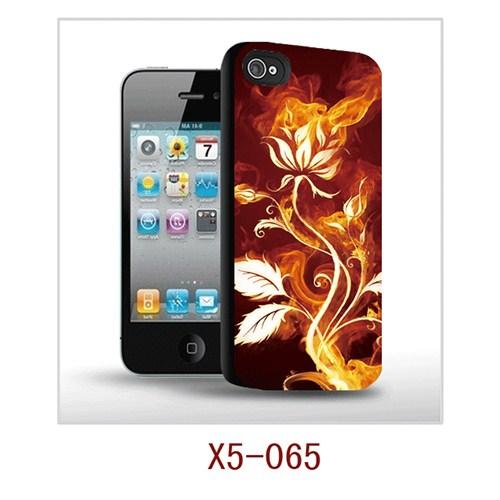 I-Techgear Apple iPhone 5/5s 3D Arka Kapak Yanan Çiçek X5-065