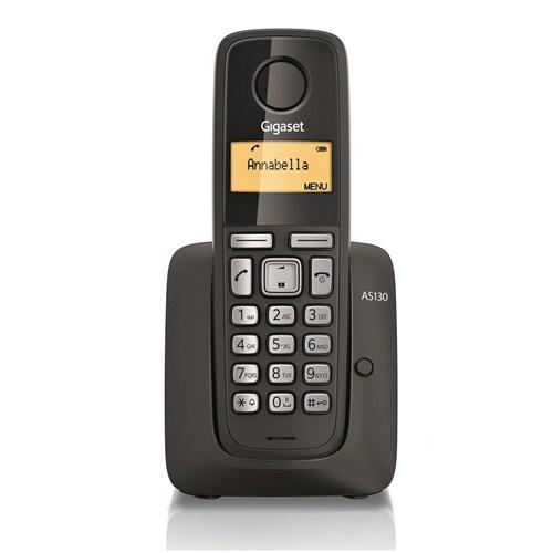 Gigaset AS130 Dect Telefon Siyah