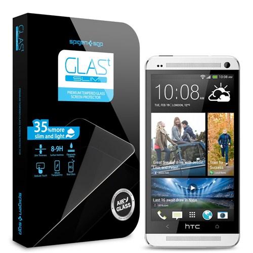 Spigen SGP HTC One Screen Protector GLAS.t SLIM Premium Tempered Glass