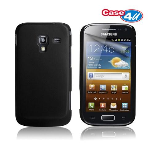 Case 4U Samsung Galaxy Ace 2 i8160 Siyah Kapak