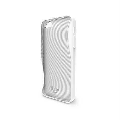 iLuv Apple iPhone 5 Beyaz ICA7H328 Twain 360 Degree Protection Kılıf