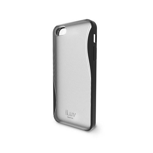 iLuv Apple iPhone 5 Siyah ICA7H328 Twain 360 Degree Protection Kılıf