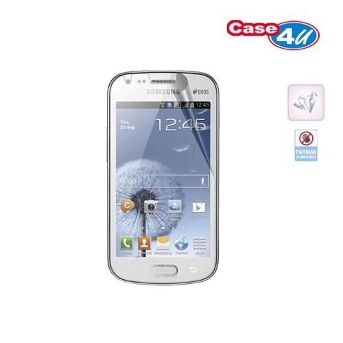 Case 4U Samsung Galaxy Trend S7560 Ekran Koruyucu ( Ultra Şeffaf Parmak izi bırakmaz )