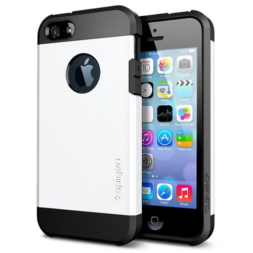 Spigen Sgp iPhone 5/5s Ku0131lu0131f Tough Armor (%100 Koruyucu ) Smooth ...