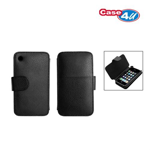 Case 4U Apple iPhone 3GS Kapaklı Kılıf