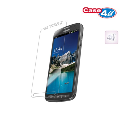 Case 4U Samsung S4 Active i9225 Ekran Koruyucu ( Ultra Şeffaf Parmak izi bırakmaz )