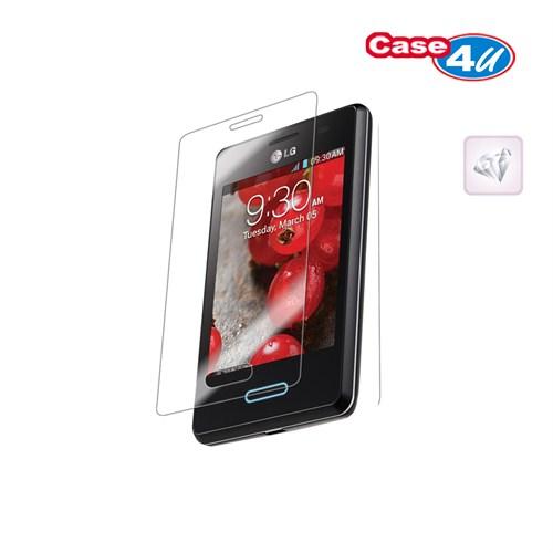 Case 4U LG L3 Ekran Koruyucu ( Ultra Şeffaf Parmak izi bırakmaz )