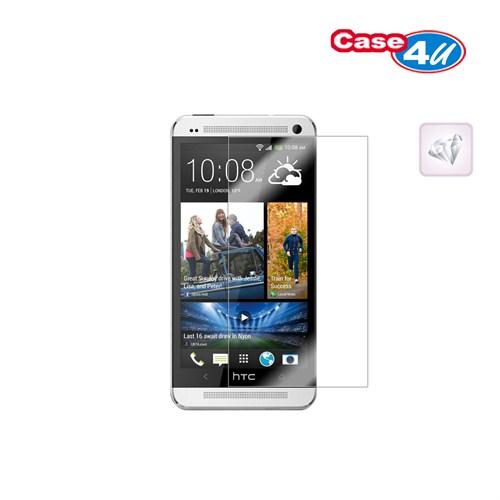 Case 4U Htc One Mini Ekran Koruyucu ( Ultra Şeffaf Parmak izi bırakmaz )