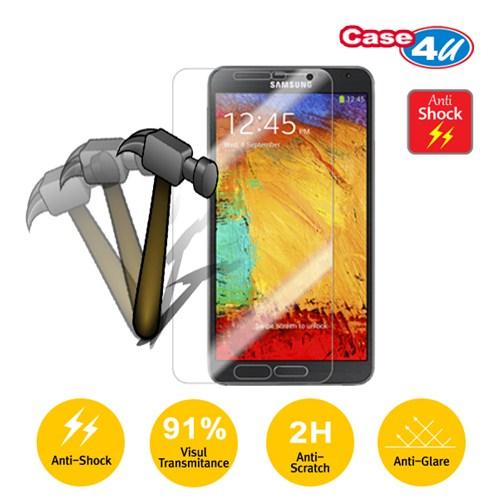 Case 4U Samsung Note 3 N9000 Ekran Koruyucu (Kırılmaz,Çizilmez Anti Shock)