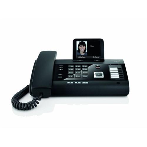 Gigaset DL500A Masaüstü Telefon Siyah