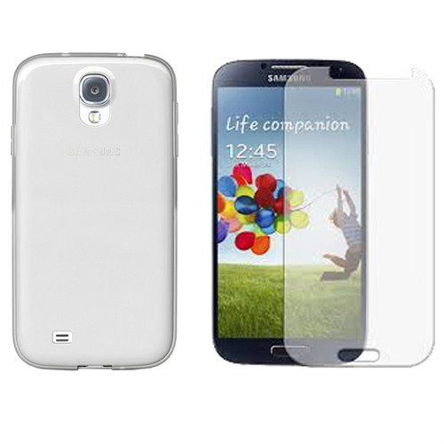 Case Crown Samsung Galaxy S4 Ekran Koruyucu