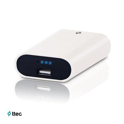 Ttec EasyCharge Smart Taşınabilir Şarj Cihazı 5600 mAh Beyaz