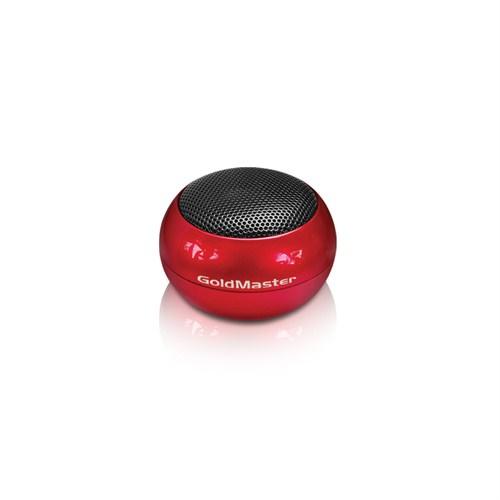 Goldmaster Mobile 20 Mini Cep Hoparlörü Kırmızı