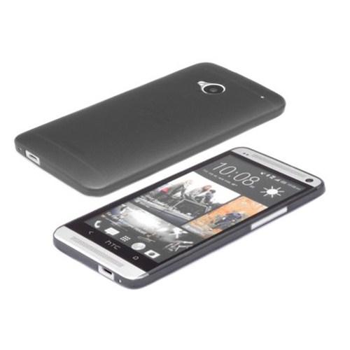 Microsonic Ultra Thin 0.2mm Kılıf HTC ONE M7 Siyah