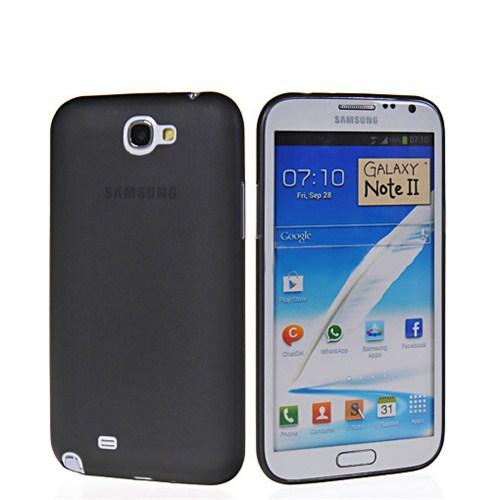 Microsonic 0.2mm Ultra İnce Kılıf Samsung Galaxy Note 2 N7100 Siyah