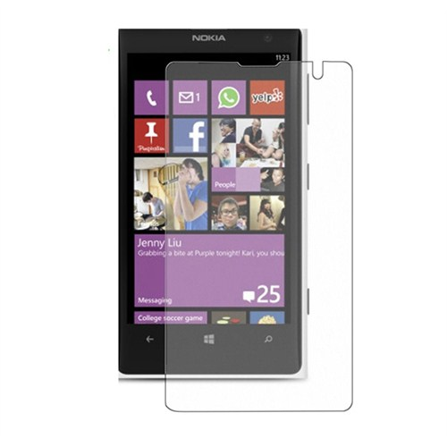 Microsonic Nokia Lumia 1020 Ultra Şeffaf Ekran Koruyucu