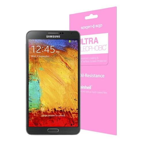 Spigen SGP Samsung Galaxy Note 3 N9000 Screen Protector Steinheil Ultra Oleophobic Ekran Koruyucu
