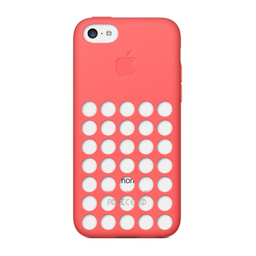 Apple iPhone 5c Kılıf Pembe - MF036ZM/A