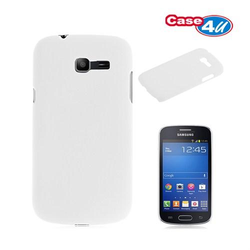 Case 4U Samsung S7390 Galaxy Trend Lite Beyaz Arka Kapak