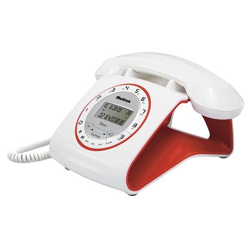 Multitek Retro Cid Masa Telefonu Beyaz
