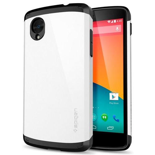 Spigen Sgp Lg Nexus 5 Slim Armor İnfinity White Kılıf