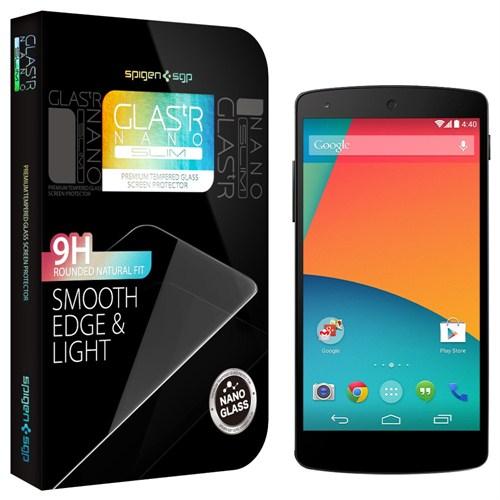 Spigen Sgp Lg Nexus 5 GLAS.tr Nano Slim Ekran Koruyucu