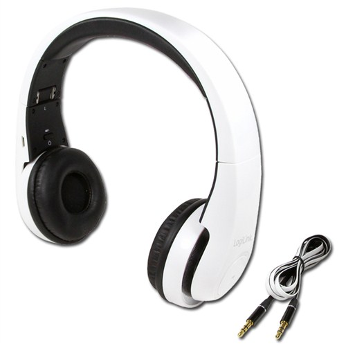 LogiLink BT0017 Bluetooth v3.0+EDR Mikrofonlu Stereo Kulaklık Beyaz