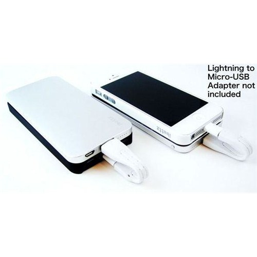 İbattz Mojo Hi5 Power Case 2500 mah (2 phone cases) - IB-HF5-BLK-01
