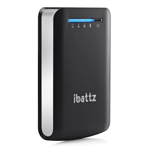 İbattz BattSTation Tough Pro Power Pack 7800 mah - Dual USB ports - IB-PWB-BLK-78